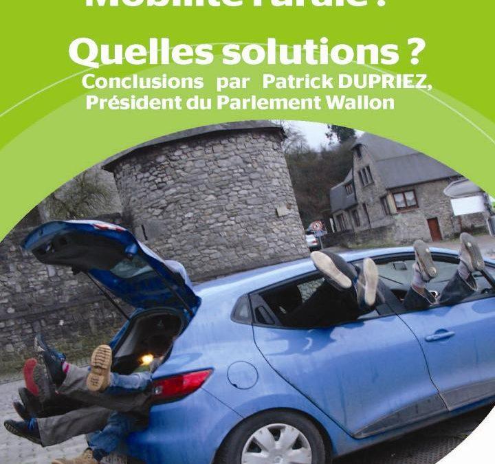 «Mobilité rurale» – Conférence-débat
