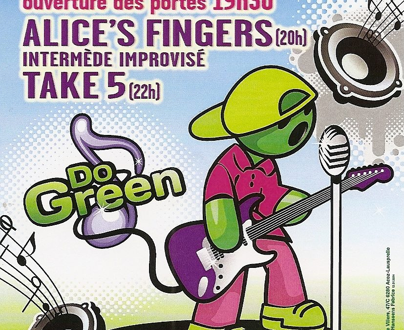 DoGreen – Concert le 26 avril